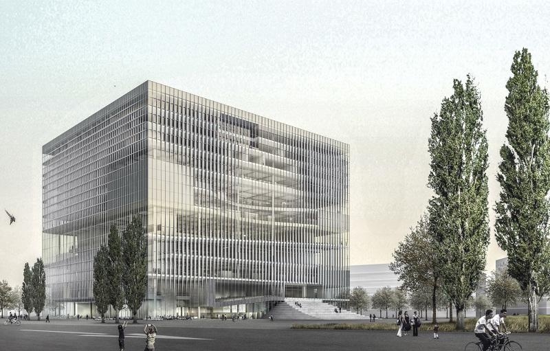 Zentral und landesbibliothek berlin phase ii - Mars architekten ...
