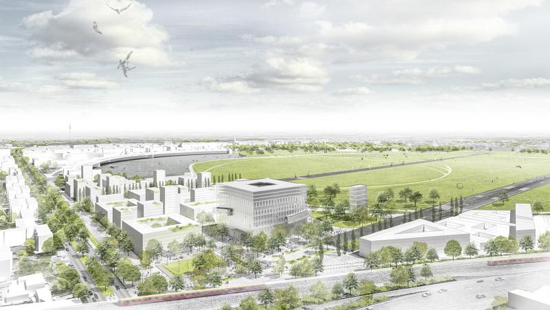 Zentral und landesbibliothek berlin phase i ein 1 preis mars architekten - Mars architekten ...
