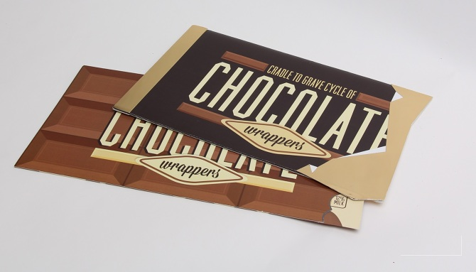 chocolate wrapper
